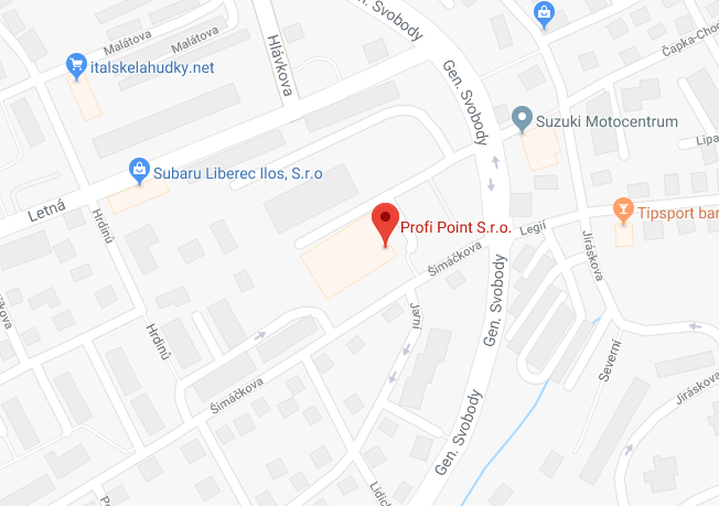 ProfiPoint - Mapa